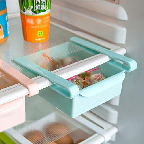 Mmdex Slide Kitchen Fridge Freezer Space Saver Organizer
