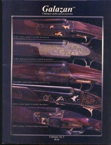 Galazan Fine Gun Accessories Catalog #9 Connecticut Shotgun Mfg New Britain