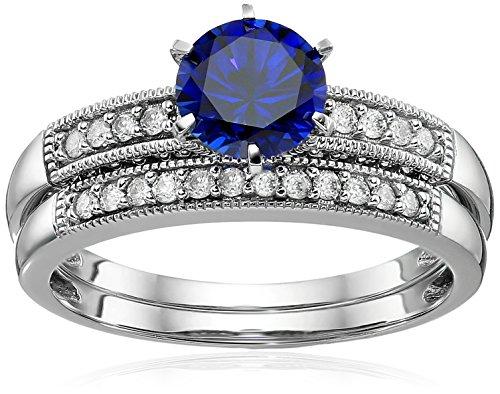 Diamond Bridal Jewelry Set - 7