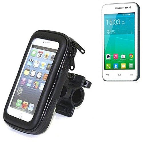 Montaje de la bici para Alcatel Pop S3, montaje del manillar para smartphones / teléfonos móviles, de aplicación universal. Conveniente para la bicicleta, motocicleta, quad, moto, etc. repelente al ag