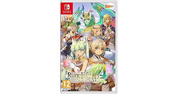 Rune Factory 4 Special Nsw: Amazon.es: Videojuegos