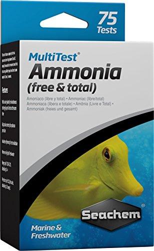Seachem MultiTest Ammonia Test Kit (Ammonia Test)