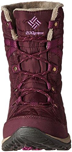 Columbia Loveland Mid Omni-Heat Waterproof, Botas de Nieve para Mujer Morado (Purple Dahlia, Northern Lights 562Purple Dahlia, Northern Lights 562)