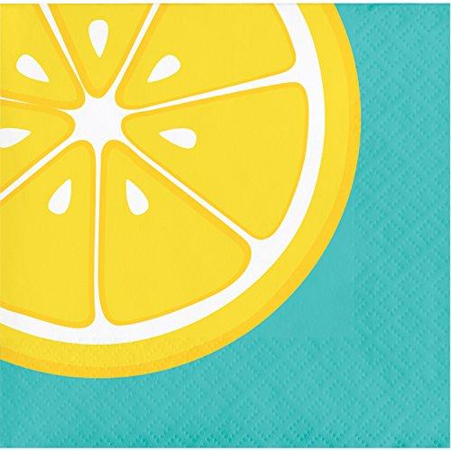Summer Squeeze Lemonade Beverage Napkins, 48 ct