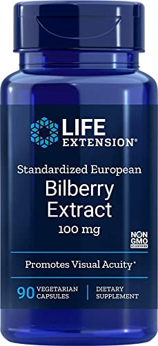Life Extension Bilberry Extract 90 V-Capsule