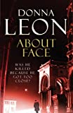 Front cover for the book About Face by Donna Leon