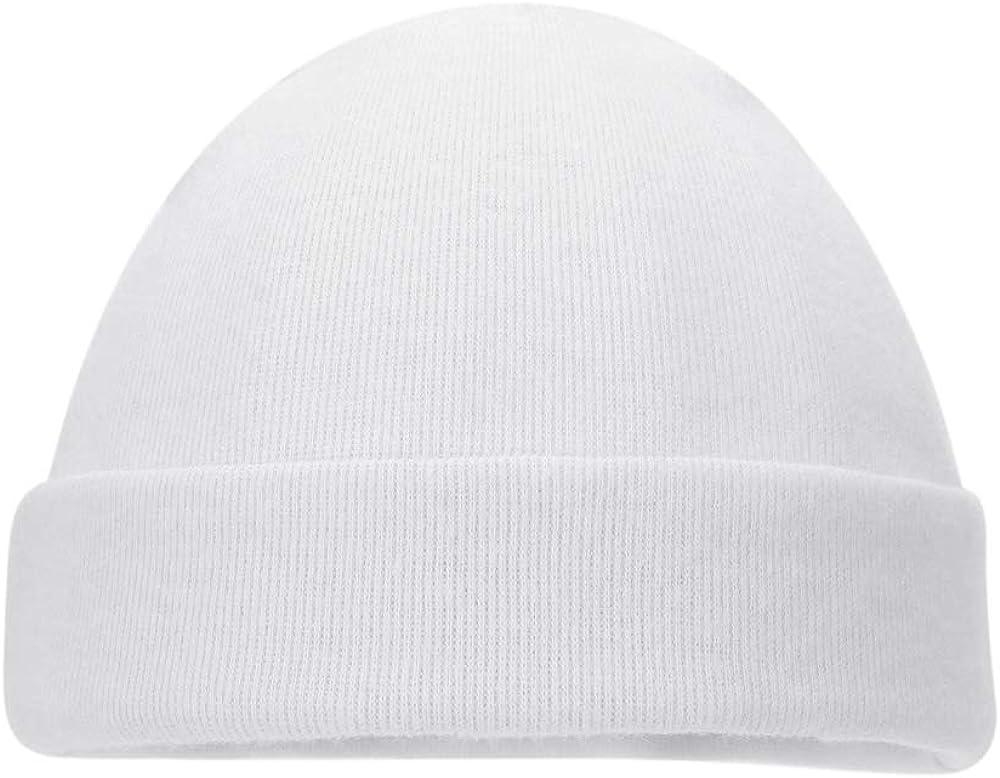 MK MATT KEELY Baby Hats Newborn Baby Beanie Caps Infant Cotton Caps for 0-3 Months