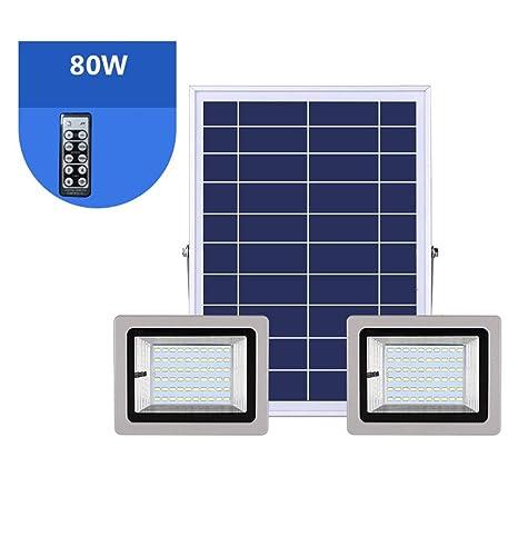 H-XH Solar Foco Proyector LED,Foco Impermeable De Seguridad ...