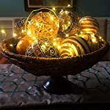 Ehome Fairy Lights Plug in, 33Ft 100 Led String