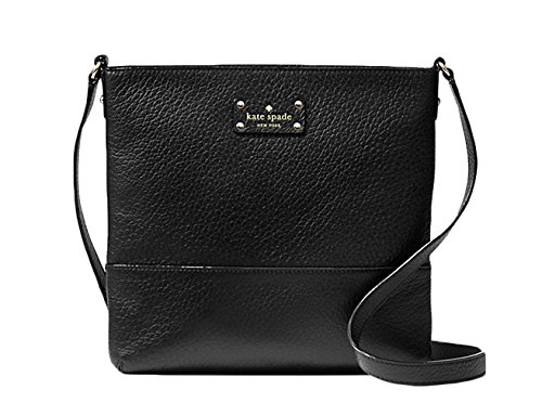 (Kate Spade bay street cora crossbody (black))