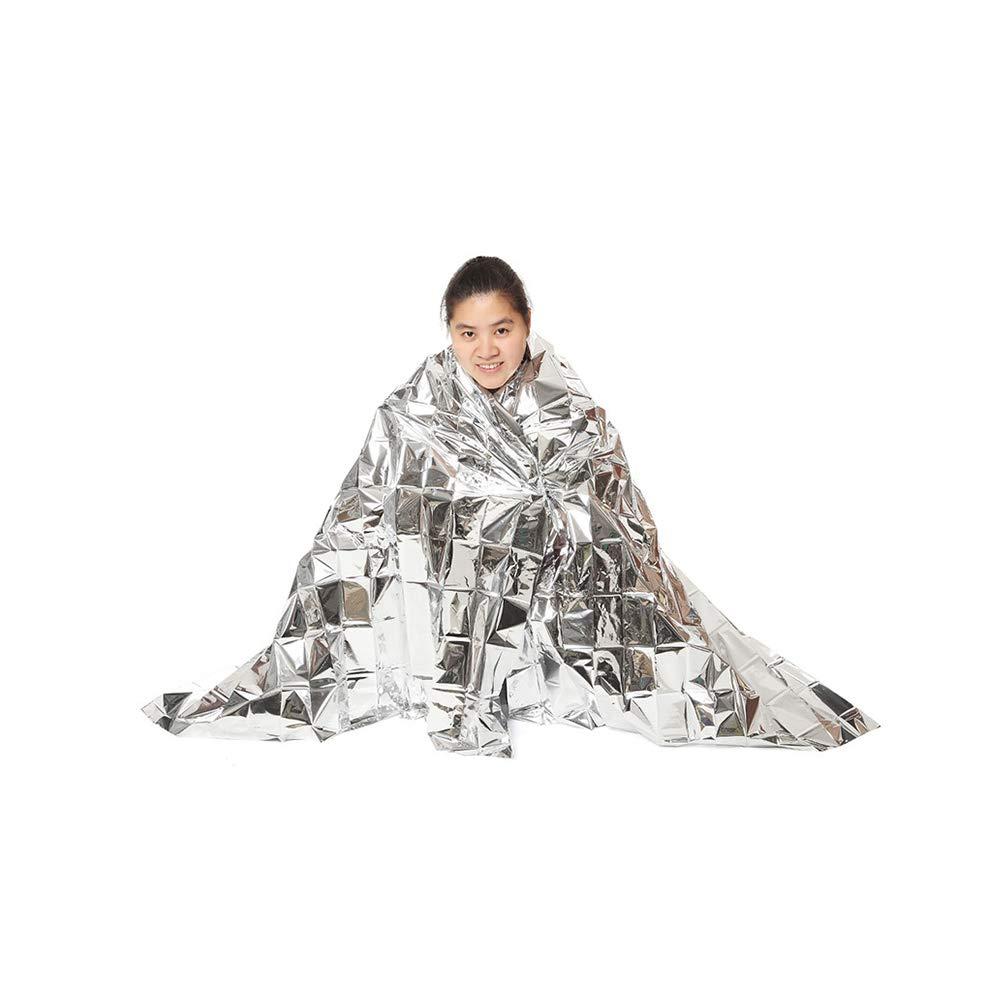 Aofocy Siè ge de Survie (Feuille d'isolation Thermique ou Thermique) 5 Paquets Couverture en Aluminium Anti-dé sastre