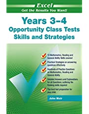 Excel Opportunity Class Tests Skills and Strategies Years 3-4