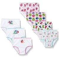 PJ Masks Girls 7-Pack Brief Bikini Panty Toddler Underwear