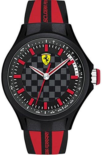 Ferrari Mens Analog Casual Quartz Watch NWT 0840002