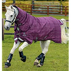 Horseware Ireland Rhino Plus Turnout, Lite, Purple, 72