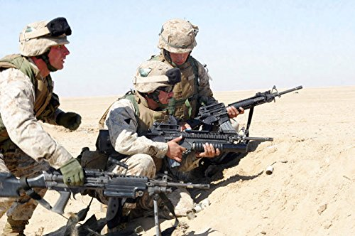 Marines take Cover While Getting Ready to fire an M203 for sale  Delivered anywhere in Canada