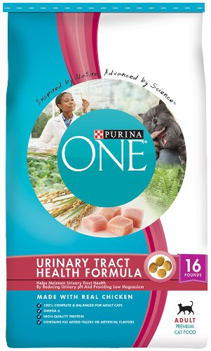 Purina One Cat Adult Urinary Tract Formula Cat Food, 16-Pound, My Pet Supplies