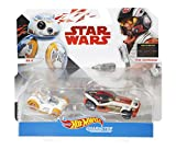 Hot Wheels Star Wars BB-8 & Poe Dameron Vehicle