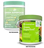 Amazing Grass Energy Green Superfood Organic Powder with Wheat Grass and Greens Natural Caffeine with Yerba Mate and Matcha Green Tea Flavor Lemon Lime 30 Servings Discount