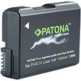 PATONA 1197 batería recargable - Batería/Pila recargable (iones de litio, Cámara digital, Negro, Coolpix D5200)
