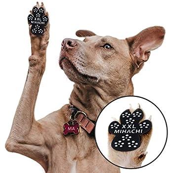 Amazon.com : LOOBANI 48 Pieces Dog Paw Protector Traction ...