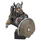 Design Toscano Viking Warrior with Thor's Thunder Hammer Statue Review