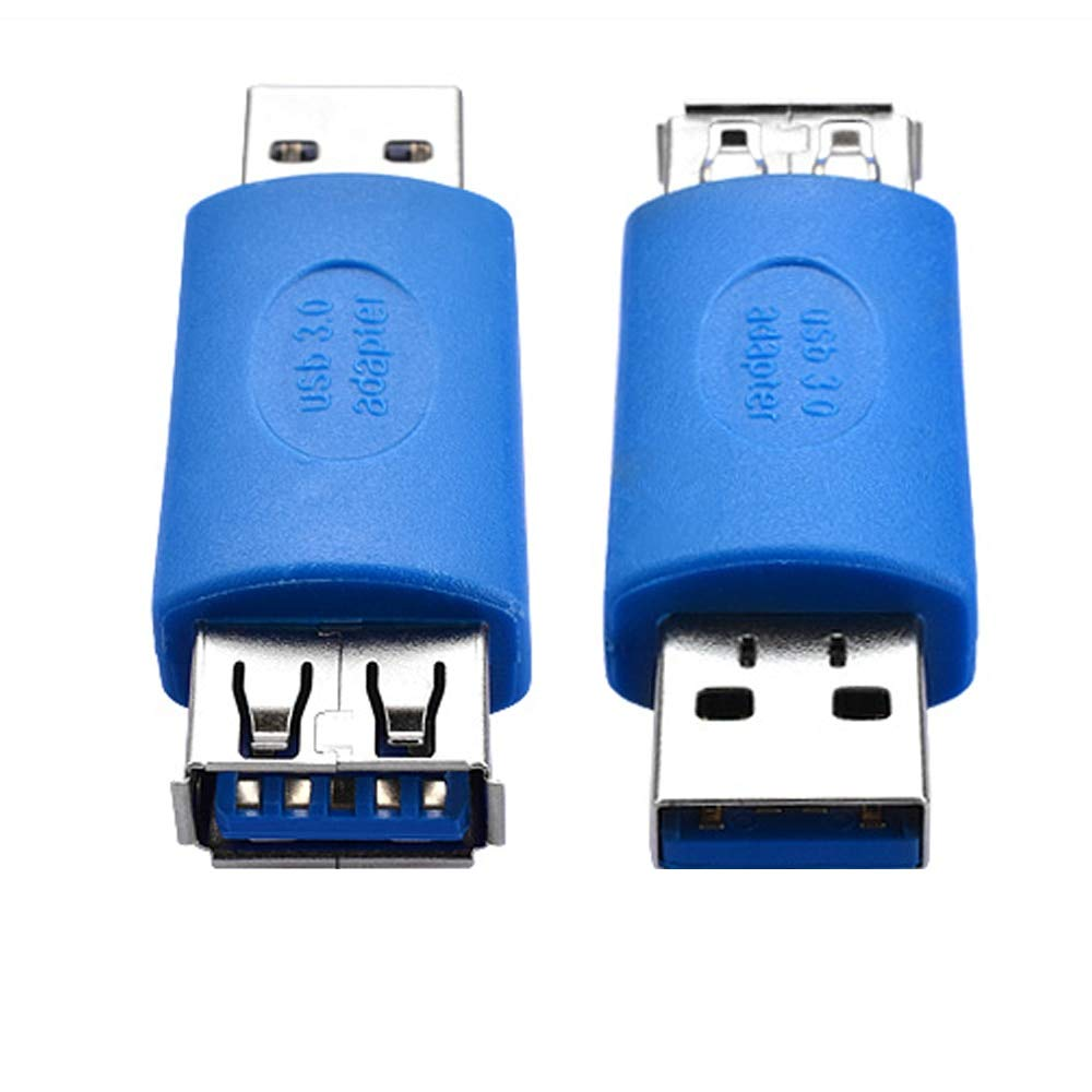 Computer Cables 5Gb//s USB 3.0 A Female Port to Male Extension Card Adapter USB3.0 AF to AM Connector Converter Extender Cable Length Blue