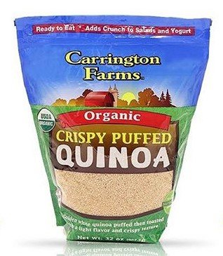 Carrington Farms Organic Crispy Puffed Quinoa, 32 Ounce