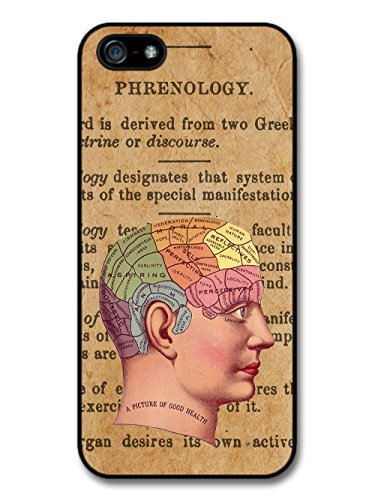 Phrenology Hipster Retro Design Stylish Rustic Paper Print coque pour iPhone 5 5S