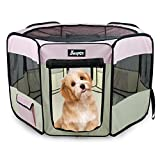 "61"" Pet Playpen for Dogs,..."