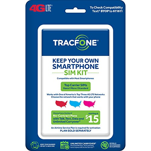 Tracfone Keep Your Own Phone 3-in-1 Prepaid SIM Kit]()