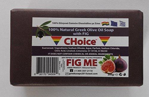 Fig Me Natural Soap w/Fig & Olive Oil 200gr (Pack of 3)