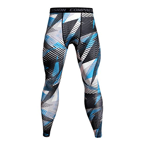Spbamboo Mens Pants Casual Trouser Leggings Breathable Sports Pants (Blue Assault Pant)