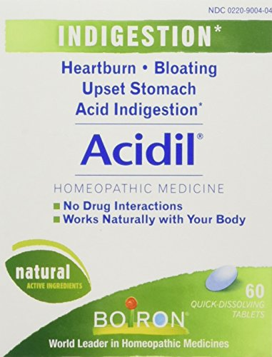 Boiron Acidil - 60 tabs (Pack of 3)
