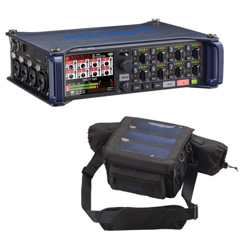 Zoom F8 Field Recorder & Custom Protective Case Kit by Zoom