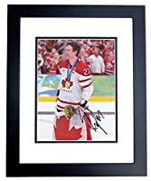 Signed Scott Niedermayer Photo - Team Canada Gold Medalist 8x10 BLACK CUSTOM FRAME 2013 Hall of Fame Stanley Cup Champions - PSA/DNA Certified