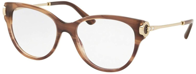Eyeglasses Bvlgari BV 4144 B 5240 STRIPED BROWN
