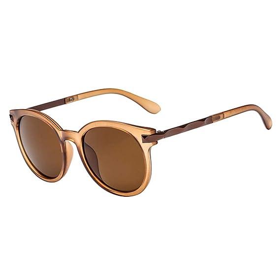 Gusspower Gafas de Sol Mujer Retro Gafas vintage Redondas ...