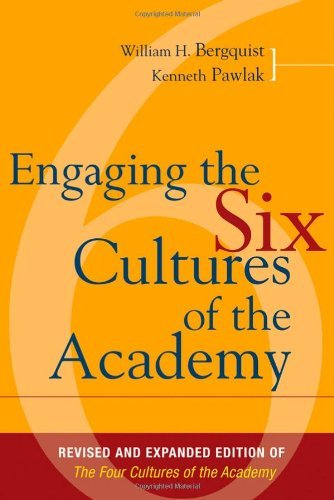 Download By Kenneth Pawlak - Engaging the Six Cultures of the Academy: Revised and Expanded Edition of The Six Cultures of the Academy:2nd (Second) edition pdf