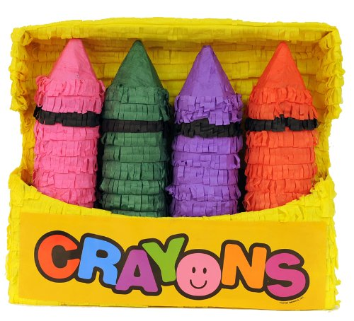 Aztec Imports Crayon Box Pinata by Aztec Imports, Inc.