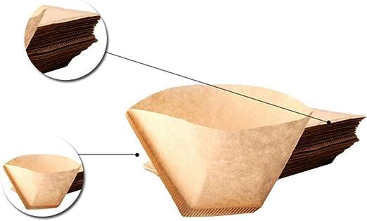COKFEB Filtro de café 100pcs filtros de cafetera Desechables ...