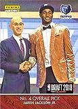 #5: 2018-19 Panini Instant NBA Draft Night #DN4 Jaren Jackson Jr. Basketball Card - Only 285 made!