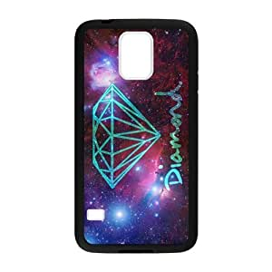 Canting_Good Diamond Custom Case Shell Cover for Samsung Galaxy S5 (Laser Technology)