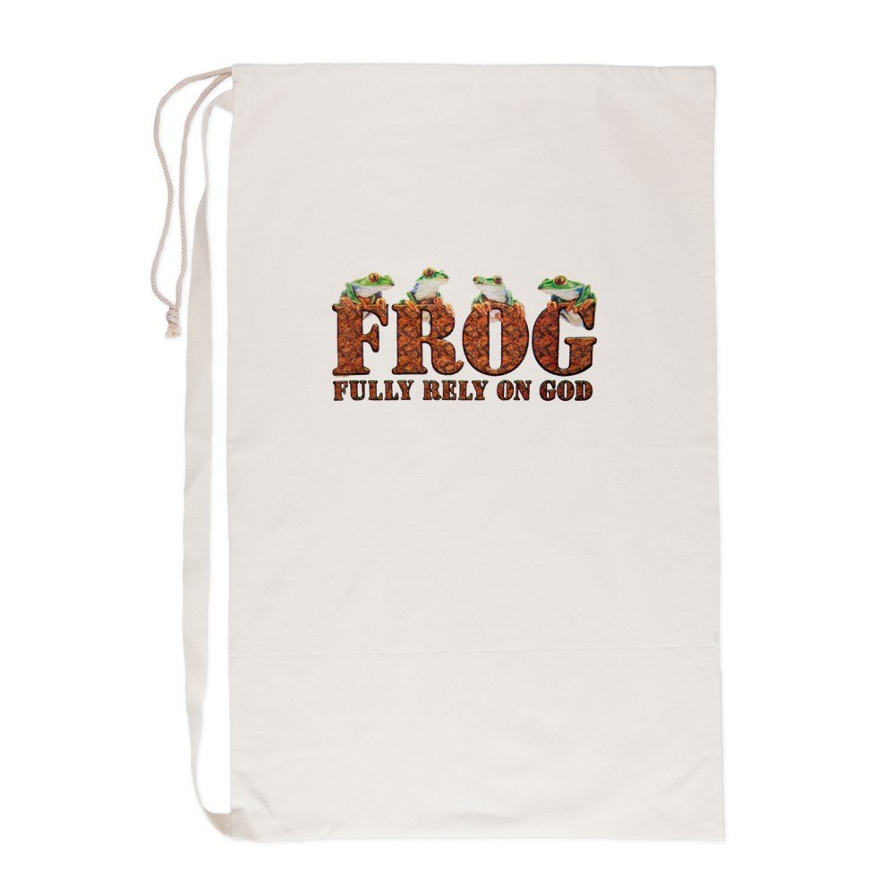 Laundry Bag FROG Fully Rely On God