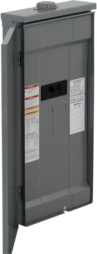 Load Center Square D by Schneider Electric HOM816M200PFTRB Square D Convertible Mains Breaker 120//240 Vac 1 Phases 200 A 22000 Air Interrupt