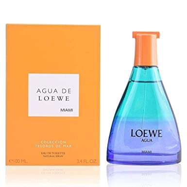 Loewe Agua De Loewe Miami Edt Vapo 100 Ml 1 Unidad 100 g: Amazon.es