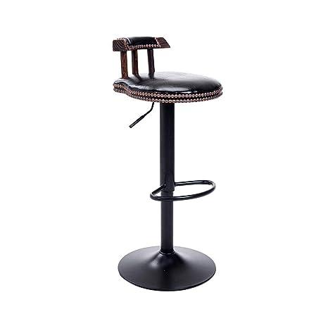 Amazon.com: Ailj American Silla de barra de hierro forjado ...