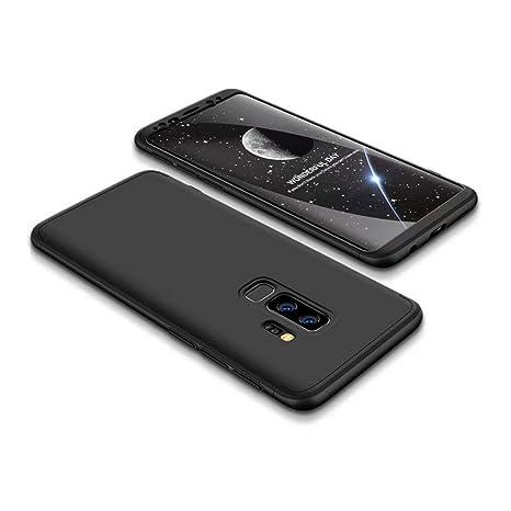 FHXD Compatible con Funda Samsung Galaxy S9 Plus Anti-Shock 360 ...