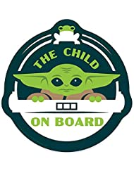 Disney Parks - Car Magnet - Mandalorian - The Child On Board