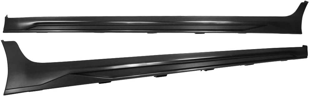 Compatible With 17-18 Hyundai Elantra SPW Style Side Skirts Extension PPBy IKON MOTORSPORTS